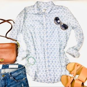 Anthropologie Holding Horses Button Up Blouse